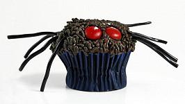 Muffin ve tvaru pavouka.