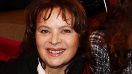 Libuška Šafránková měla dobrou náladu.