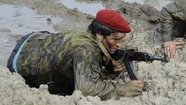 Štefan Pčelár v roli vojáka