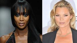Naomi Campbell a Kate Moss budou spolu s dalšími třemi modelkami zakončovat olympiádu v Londýně.