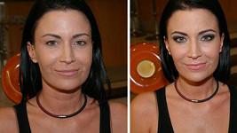 Gábina Partyšová se ukázala bez známek make-upu a tohle je výsledek.