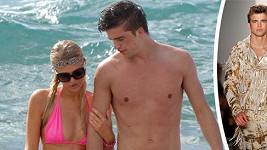 Paris Hilton se svým španělským krasavcem Riverem.