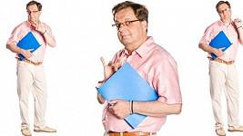 Milan Šteindler bude ve své nové roli homosexuálního hospodáře gymnázia perlit.