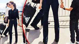 Victoria Beckham nosí velikost jako desetileté holčičky.