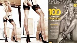 Pamela Anderson a její dokonalé nohy nejen v Playboyi.