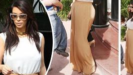 Kim Kardashian a její nevhodná volba oděvu.