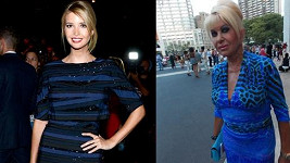 Ivana a Ivanka Trumpovy na Fashion Weeku.