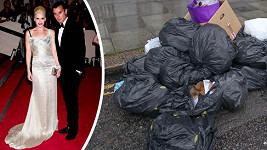 Gwen Stefani s manželem nechali před domem pořádný svinčík.