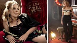 Diana Krall si pózování ve svůdném prádélku může dovolit.