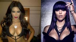 Kim Kardashian a její bujný dekolt nenechají spát nejednoho muže.