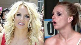Britney Spears jako porotkyně X Factoru a v civilu.