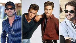 Brandon Walsh (Jason Priestley) a Dylan McKay (Luke Perry)