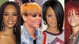 Rihanna už vystřídala spoustu účesů a barev vlasů.