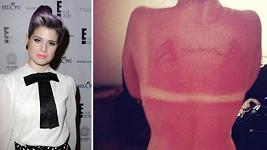 Kelly Osbourne slunce podcenila...