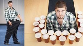 Martin Jones přestal pít pivo a shodil víc než metrák.