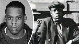 Jay-Z se svým dvojníkem z minulosti