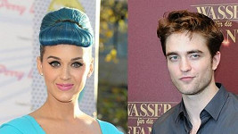 Katy Perry a Robert Pattinson.