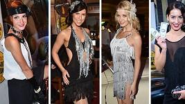 Míša Maurerová, Victoria, Gábina Franková i Nikola Buranská dress code splnily na výbornou.
