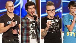 Který soutěžící se vám líbí nejvíc?