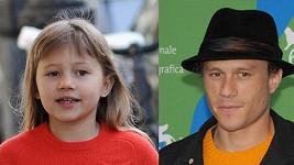 Matilda roste do podoby otce Heatha Ledgera, který zemřel před čtyřmi lety.
