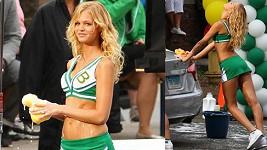 Erin Heatherton ve své první filmové roli.