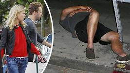 Setkání manželů Chrise Martina a Gwyneth Paltrow skončilo dramatickým způsobem.