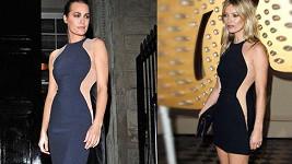 Yasmin Le Bon a Kate Moss oblékly téměř stejné šaty na přehlídku Stelly McCartney.