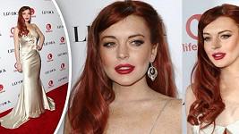 Krásná Lindsay Lohan na premiéře svého nového filmu.