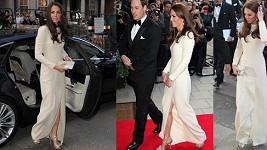 Vévodkyně Catherine po boku manželka Williama opět zazářila.
