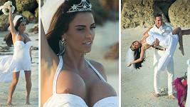 Katie Price je potřetí vdanou paní.
