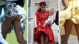 Vévodkyně Kate má s šatičkami utrum.
