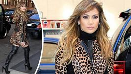 Jennifer Lopez zvířecím vzorem podtrhla svou svůdnost.