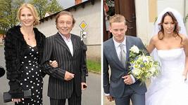 Agáta Prachařová a Jakub Prachař, Gottovi