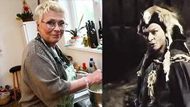 Jana Andresííková (foto z roku 2012) a v Arabele coby čarodějnice