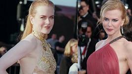 Nicole Kidman nám během let v horních partiích zázračně zaoblila.