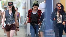 Kristen Stewart a její hodně ležérní styl.