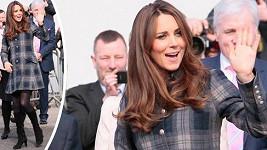 Princezna navštívila ústav pro bezdomovce v Glasgow.