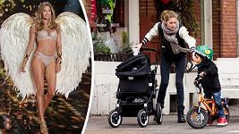 Doutzen Kroes zvláda roli maminky i sexy modelky.