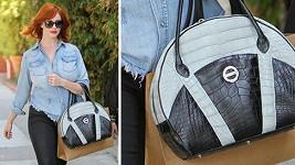 Christina Hendricks a její kabelka za téměř půl miliónu.