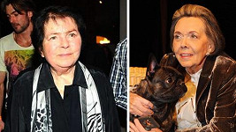 Jiřina Švorcová a Jiřina Jirásková