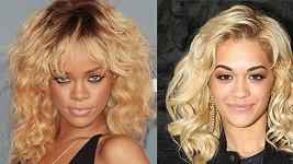 Rihanna a její budoucí konkurentka Rita Ora.