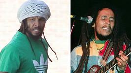 Ziggy Marley a Bob Marley.