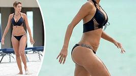 Nicole Murphy na Miami Beach