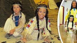 Karel Gott s indiánskými dcerami