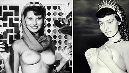 Sophia Loren měla k odhalování vždy blízký vtah.
