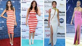 Posuďte, které celebritě sedly šaty lépe.