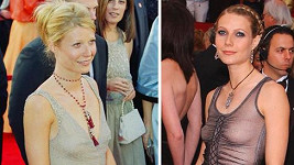 Pro Gwyneth Paltrow byly v minulosti podprsenky zbytečností.