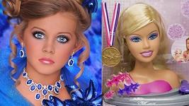 Angličanka Kylie je neuvěřitelně podobná panence Barbie.