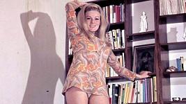Olga Schoberová se rozhodně nestyděla.