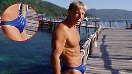 Martin Maxa má dokonale vypracované tělo.
